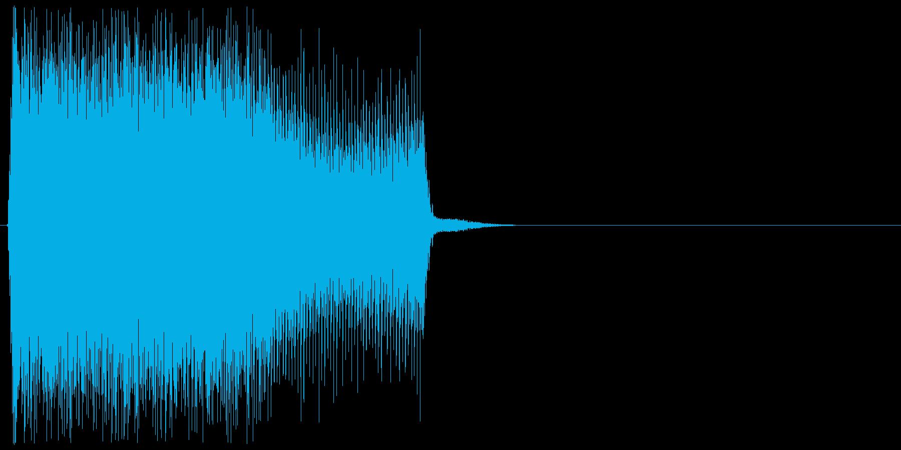 ビリビリ(帯電、静電気、チャージ)の再生済みの波形