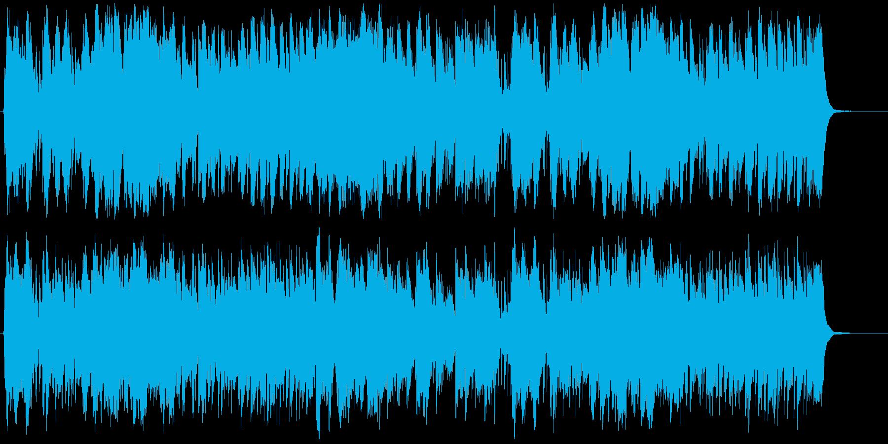 明るく爽やかなフルート・マンドリンBGMの再生済みの波形