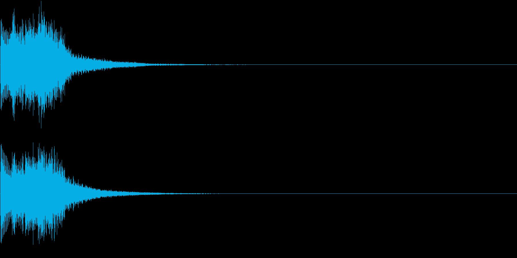 ジャラン 表示 クリック ピックアップの再生済みの波形