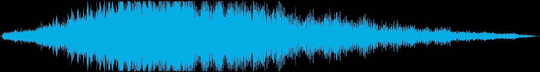 【アイキャッチ/ギュルギュル/回転】の再生済みの波形