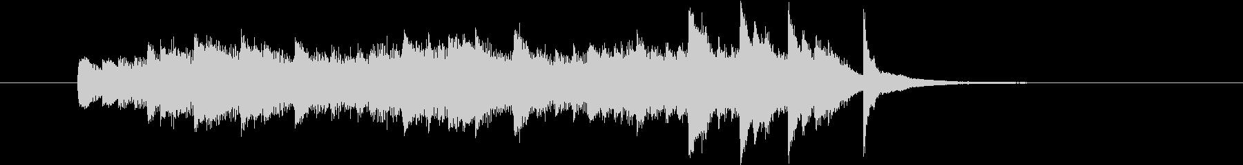 「ひらめきBGM」の未再生の波形