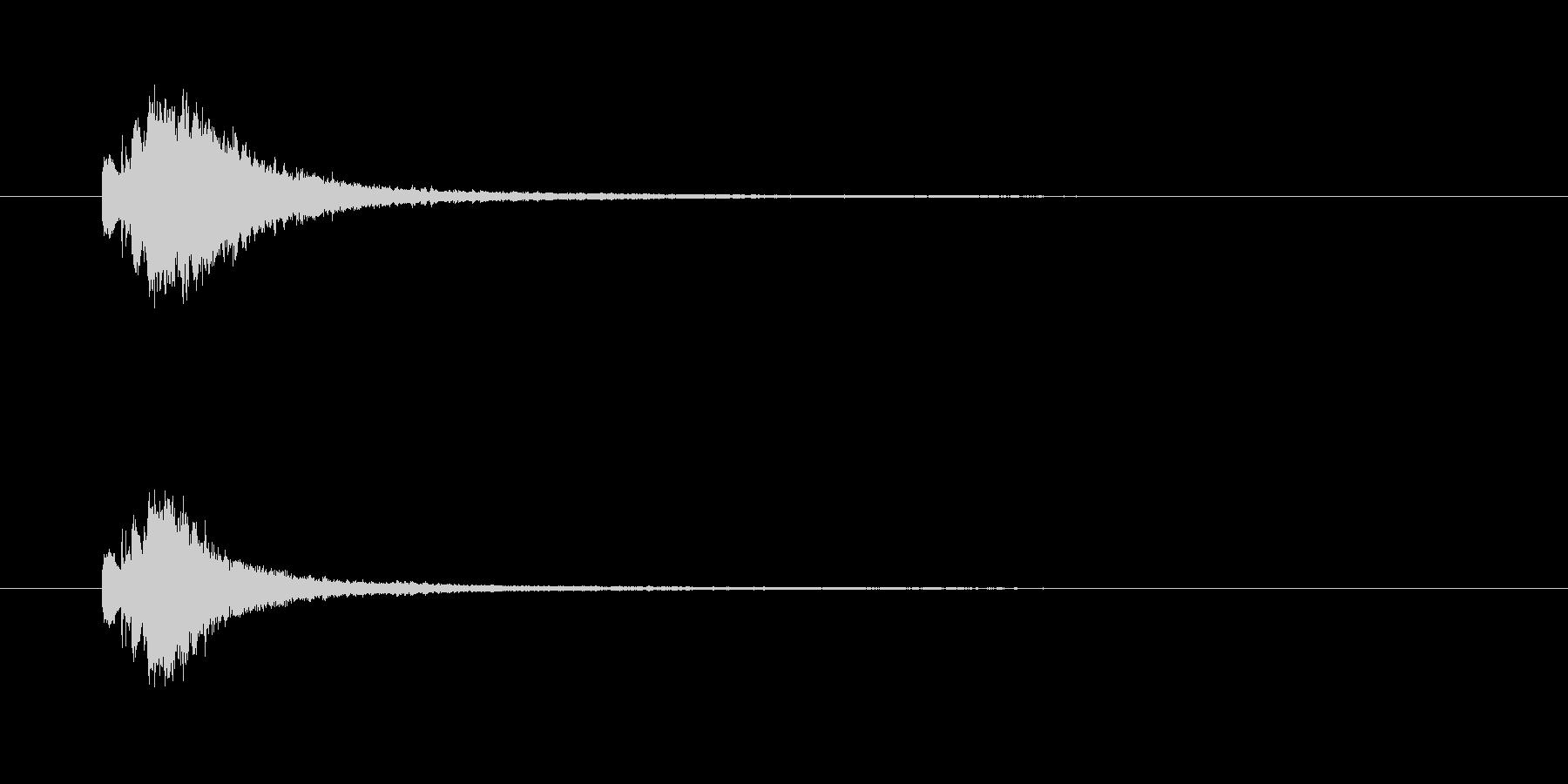 キラリン(変身、魔法、輝き)の未再生の波形
