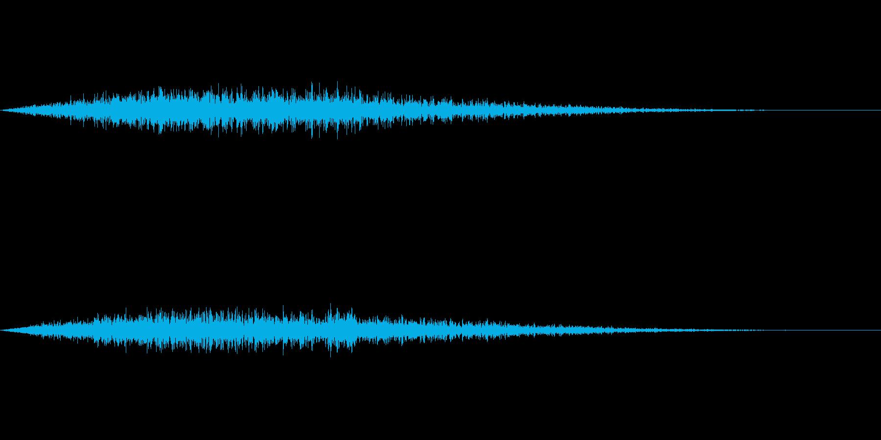 フワーン(タイトルメニューから各項目)の再生済みの波形