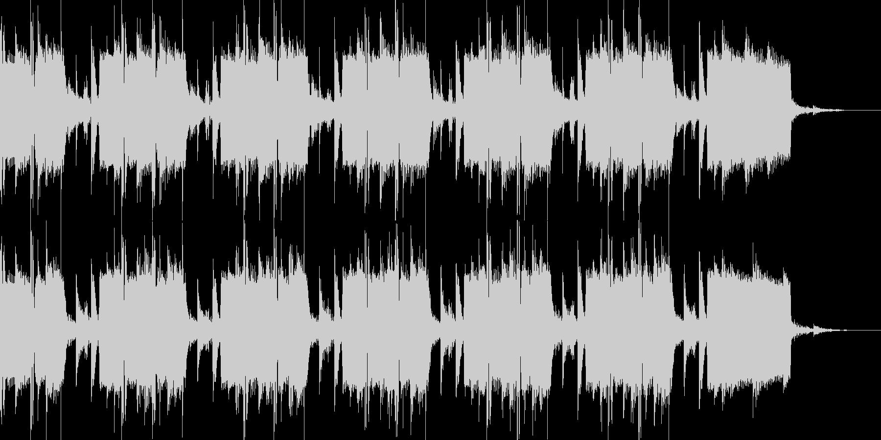 オープニングのBGMの未再生の波形
