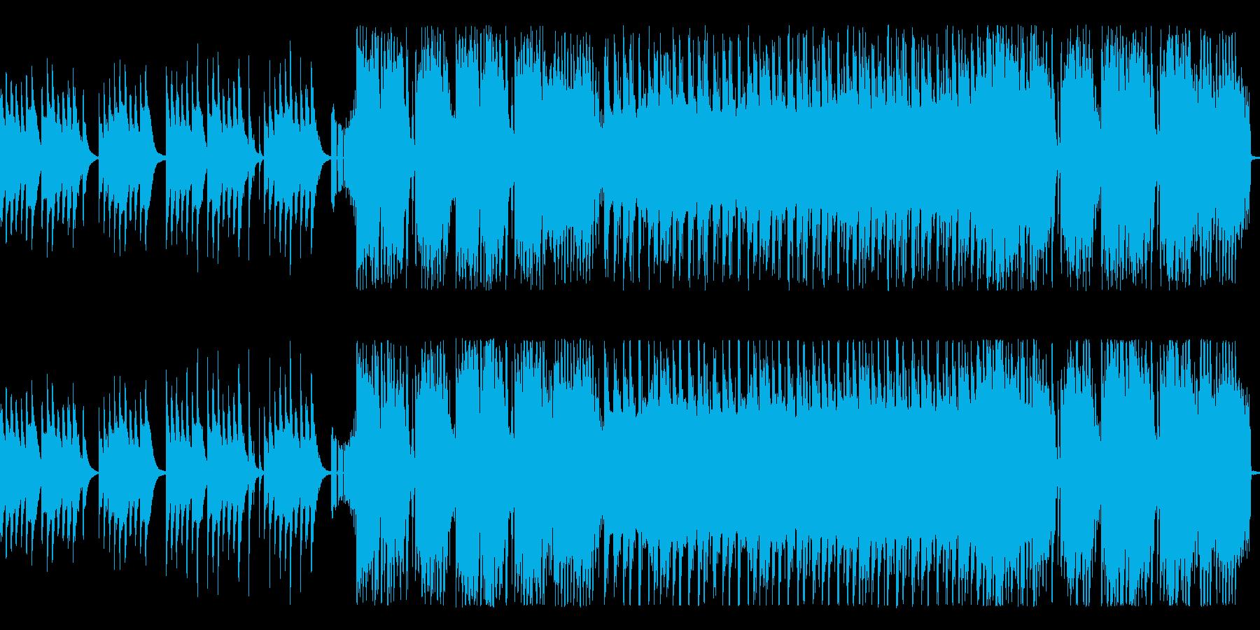 和風のBGMを作りました。の再生済みの波形