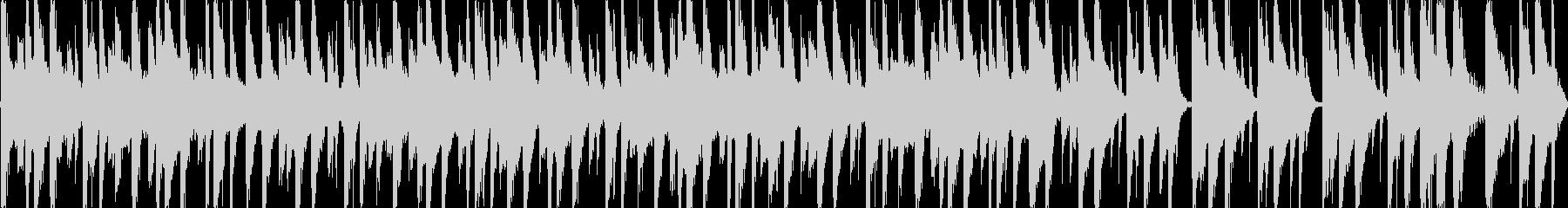 さすらいのBGMの未再生の波形