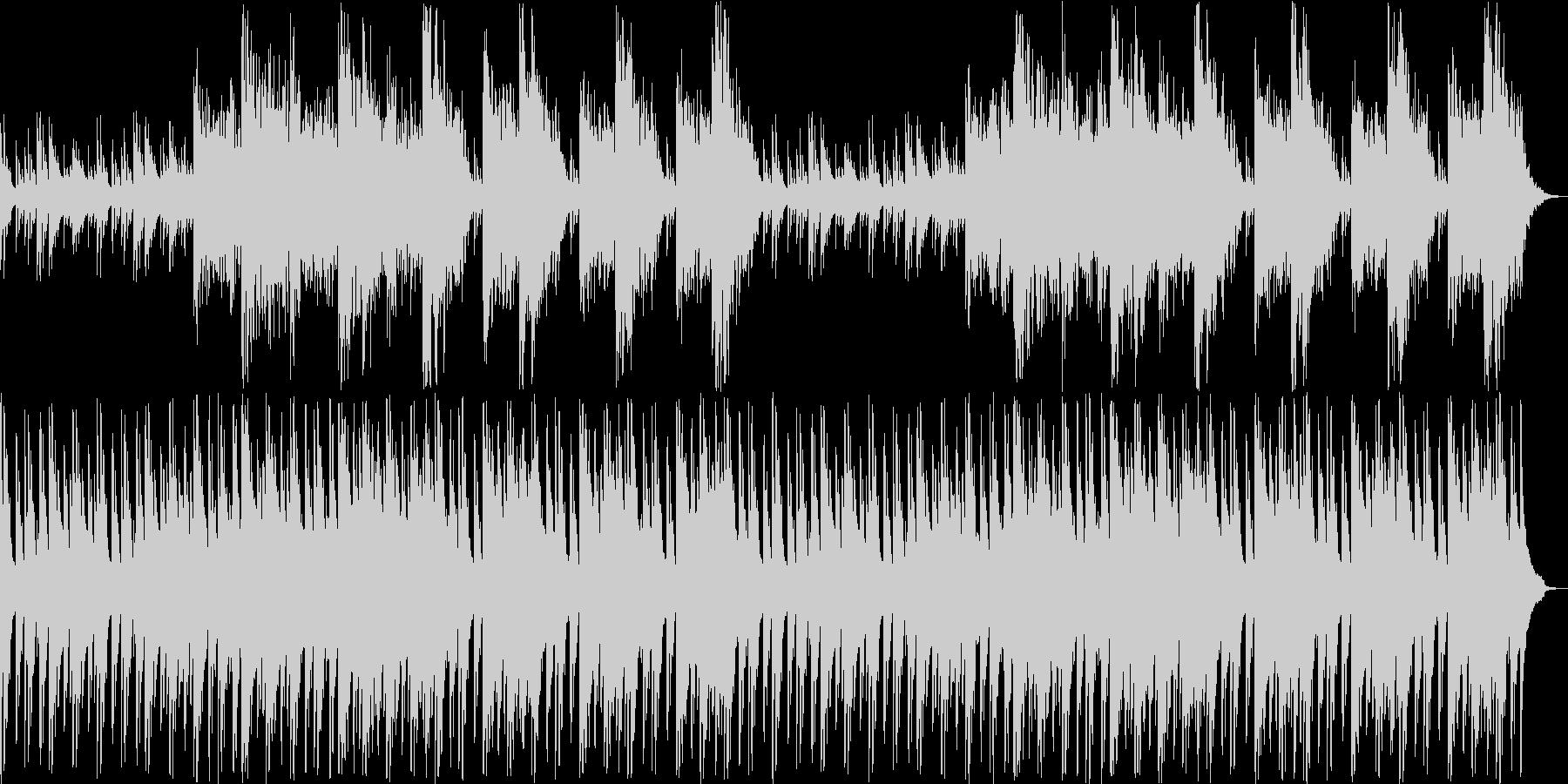 ノスタルジックなギターシンセサウンドの未再生の波形