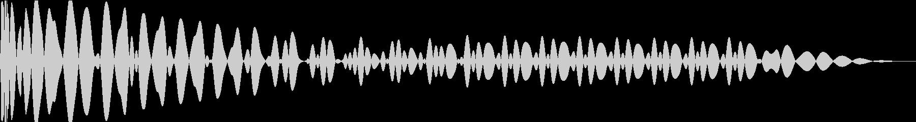 EDMキック キーF#の未再生の波形