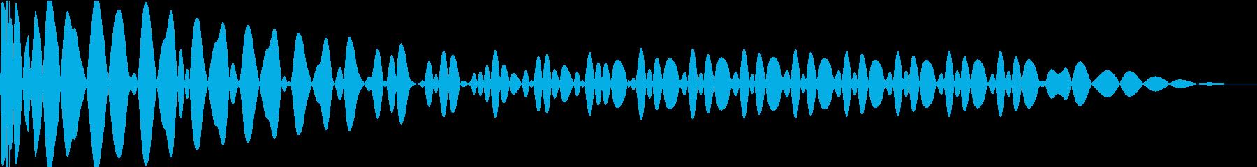EDMキック キーF#の再生済みの波形