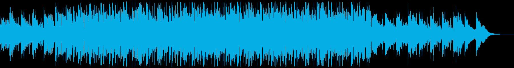 天気予報やニュース番組BGMの再生済みの波形