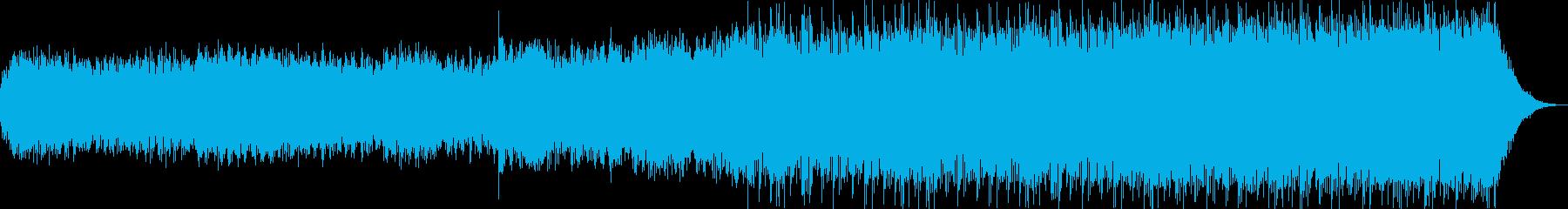 ミステリアス ホラー ピアノアンビエントの再生済みの波形