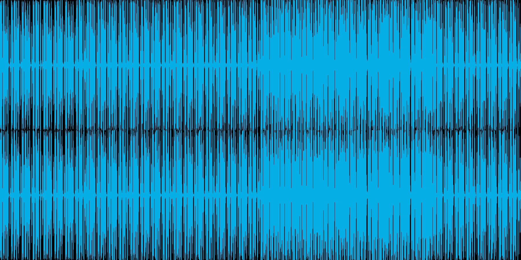 【ダンスやパーティイベント用BGM】の再生済みの波形