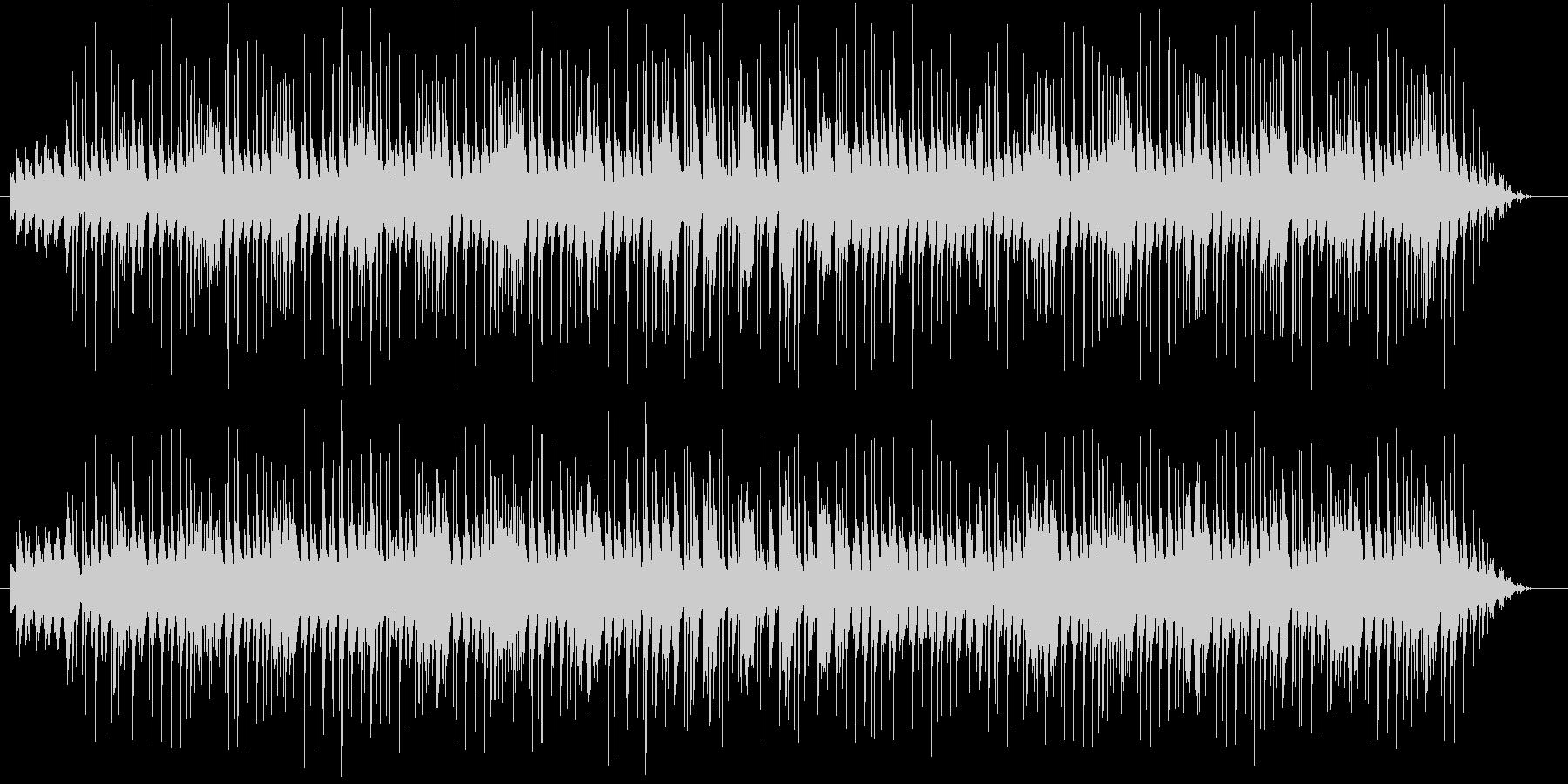 ウキウキ気分の可愛いBGMの未再生の波形