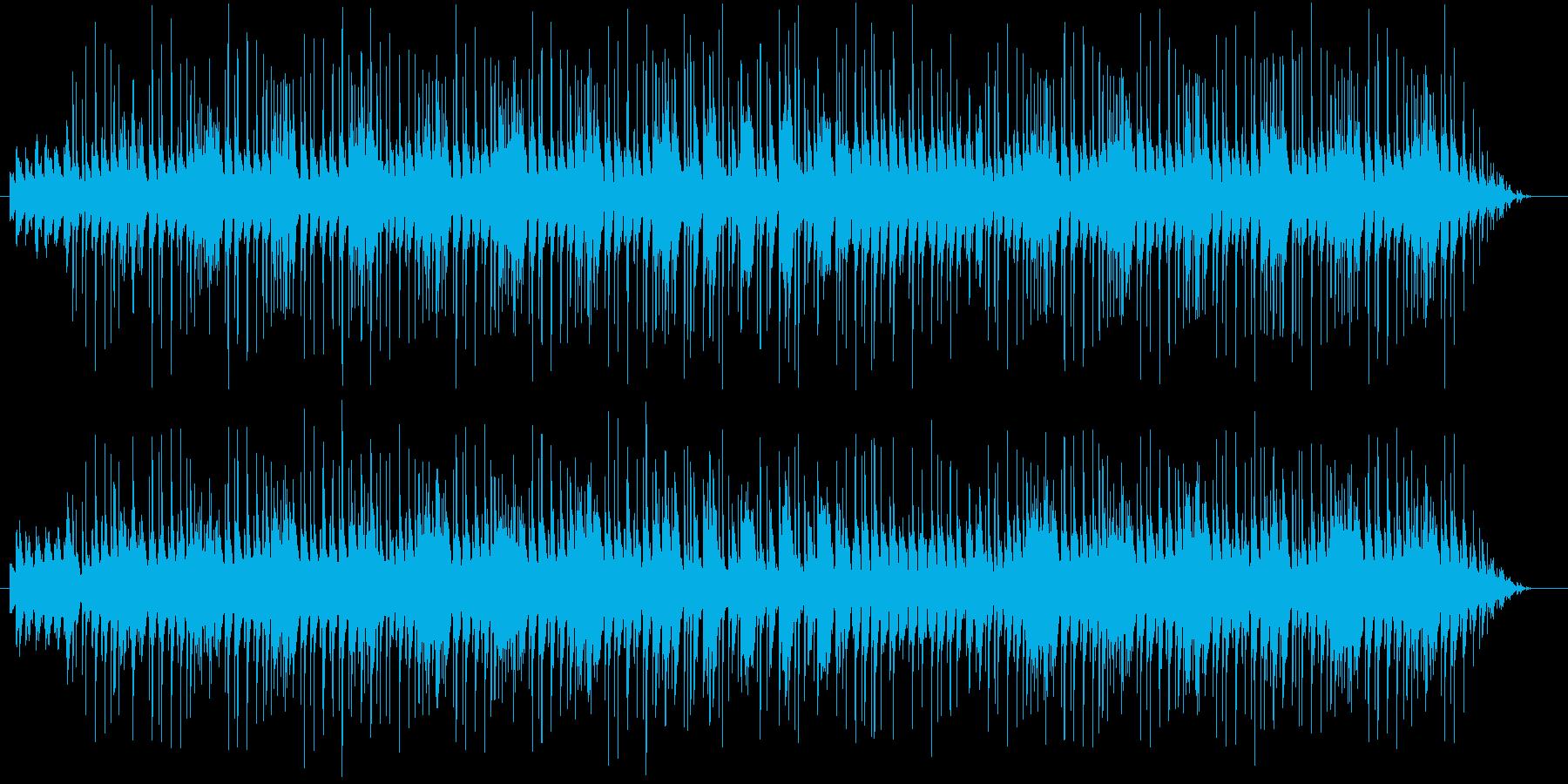 ウキウキ気分の可愛いBGMの再生済みの波形
