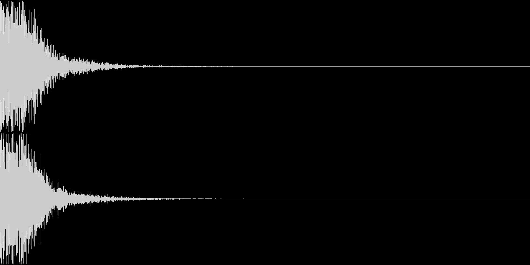 KAKUGE 格闘ゲーム戦闘音 50の未再生の波形