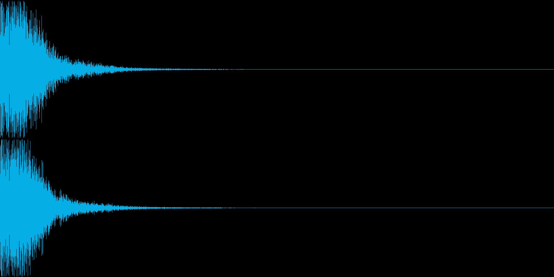 KAKUGE 格闘ゲーム戦闘音 50の再生済みの波形