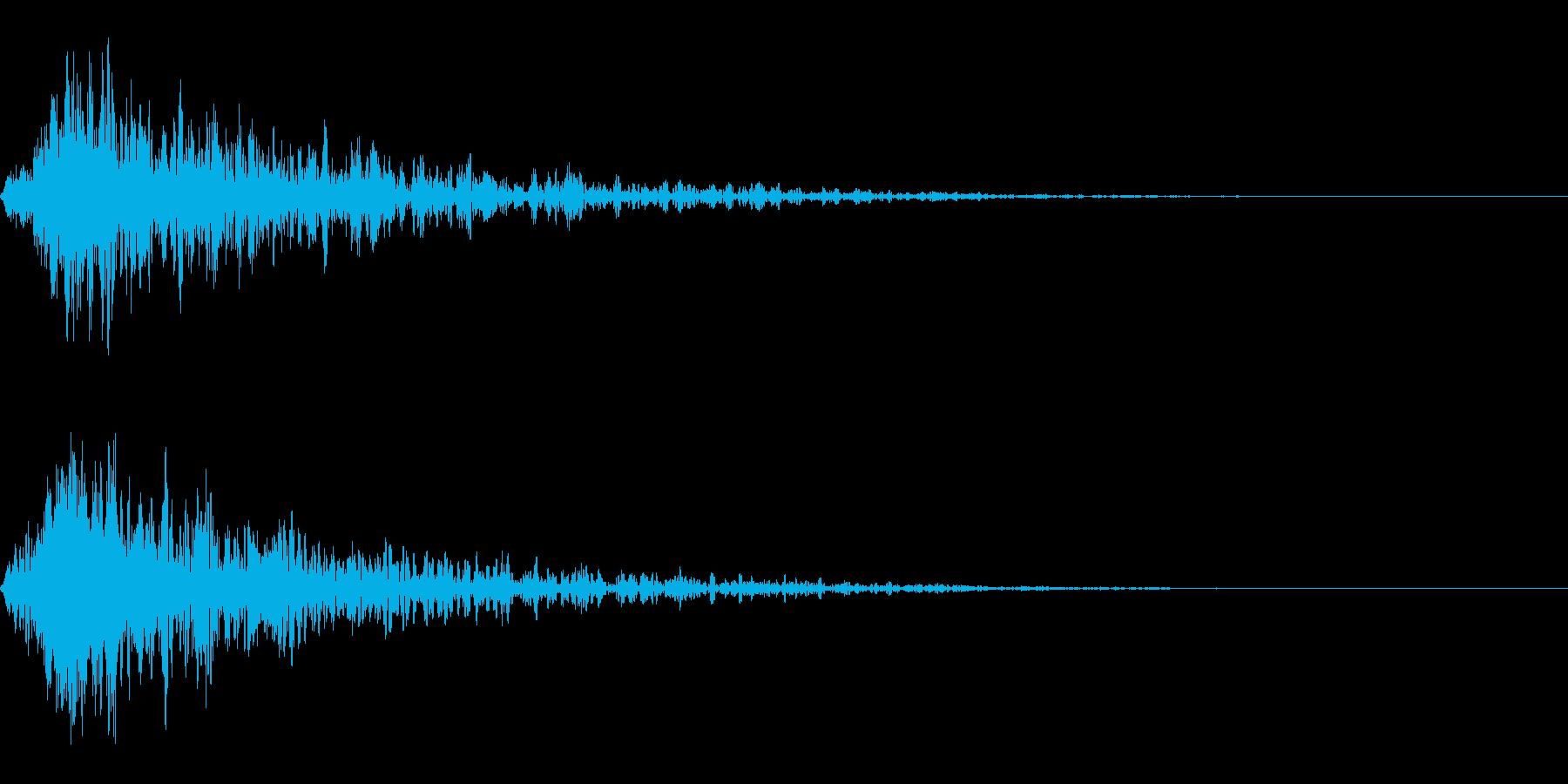 炎攻撃 炎魔法 打撃 火炎属性 01cvの再生済みの波形