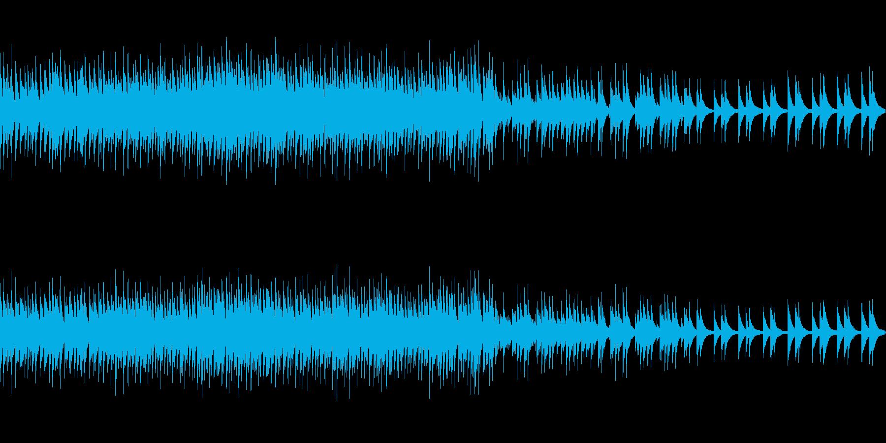 まとめ動画系しっとり (ループ仕様)の再生済みの波形