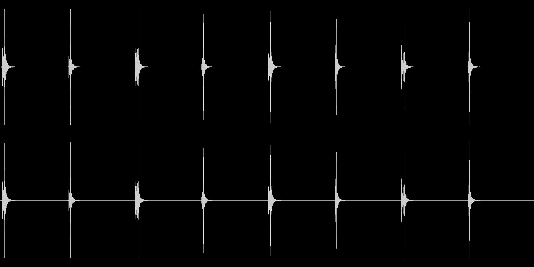 【時計 秒針01-1L】の未再生の波形