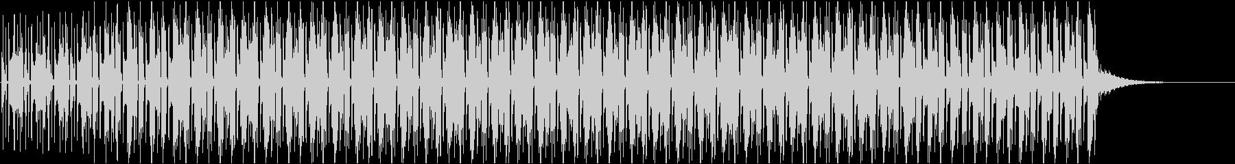 ナレーションの後ろで流れてそうなbgmの未再生の波形