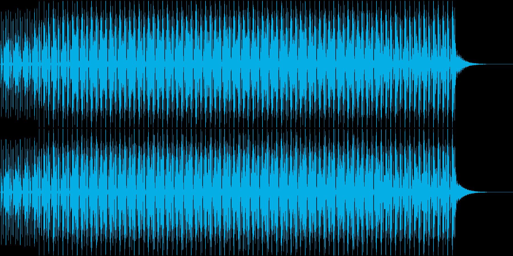 ナレーションの後ろで流れてそうなbgmの再生済みの波形