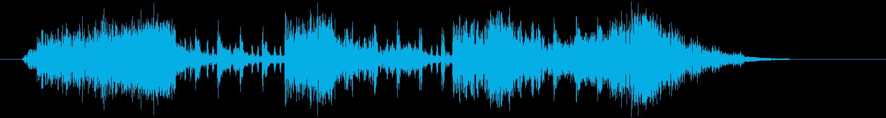 軽やかで勢いあるクラシカルポップジングルの再生済みの波形