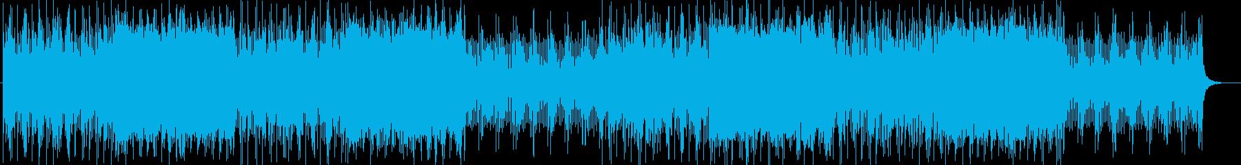 メルヘンなシンセサイザーサウンドの再生済みの波形