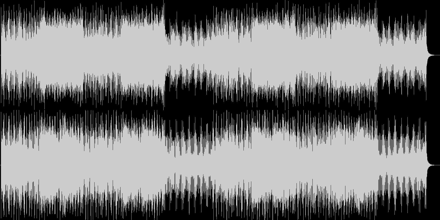 メルヘンなシンセサイザーサウンドの未再生の波形