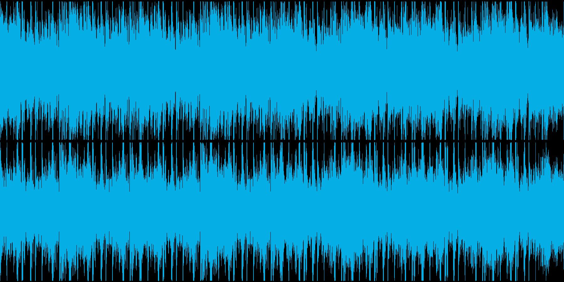 アラビアン風、怪しさ、緊迫感、ループ仕様の再生済みの波形