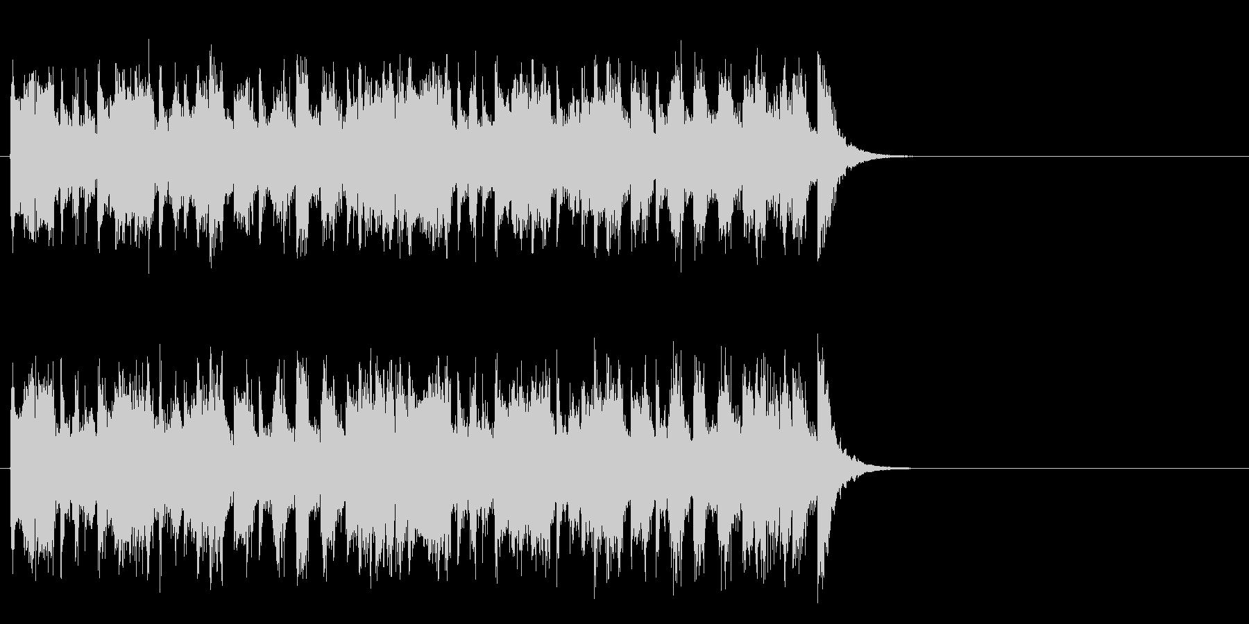 軽快なポップ R&R(サビ)の未再生の波形