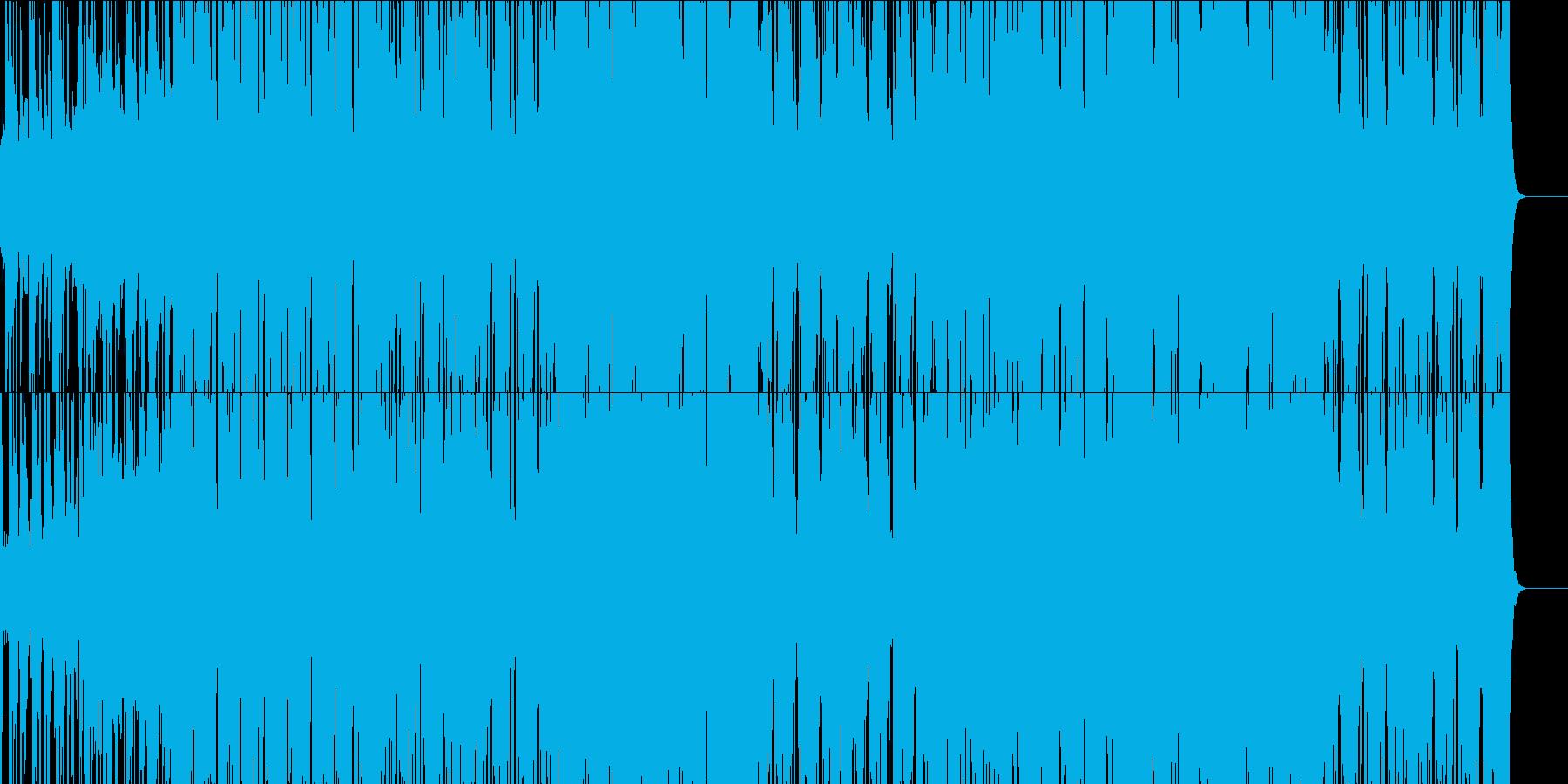 オシャレなクラブミュージック!の再生済みの波形