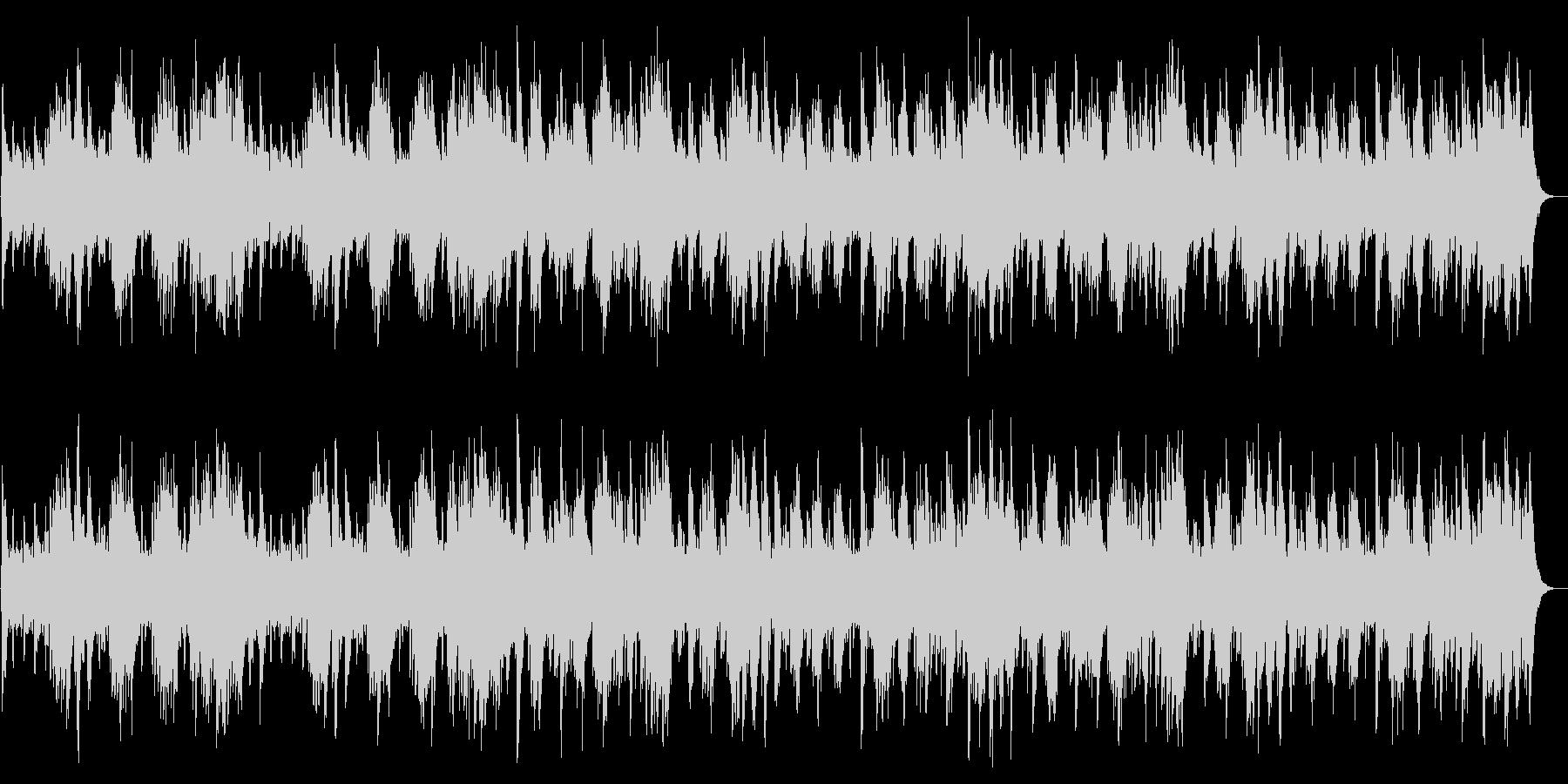 G線上のアリア crystalの未再生の波形