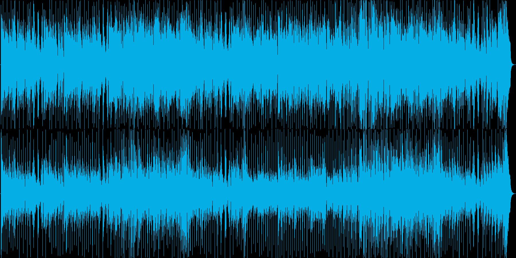 ラテン風の楽しげなソング2の再生済みの波形