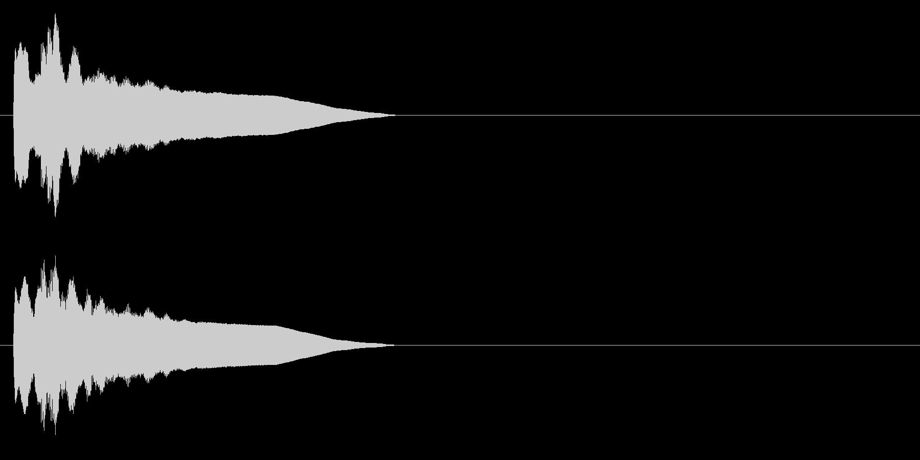 ピンポン系3 シンセの未再生の波形