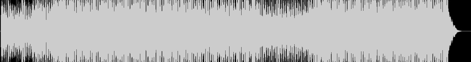 浮遊感あるメロのテクノの未再生の波形