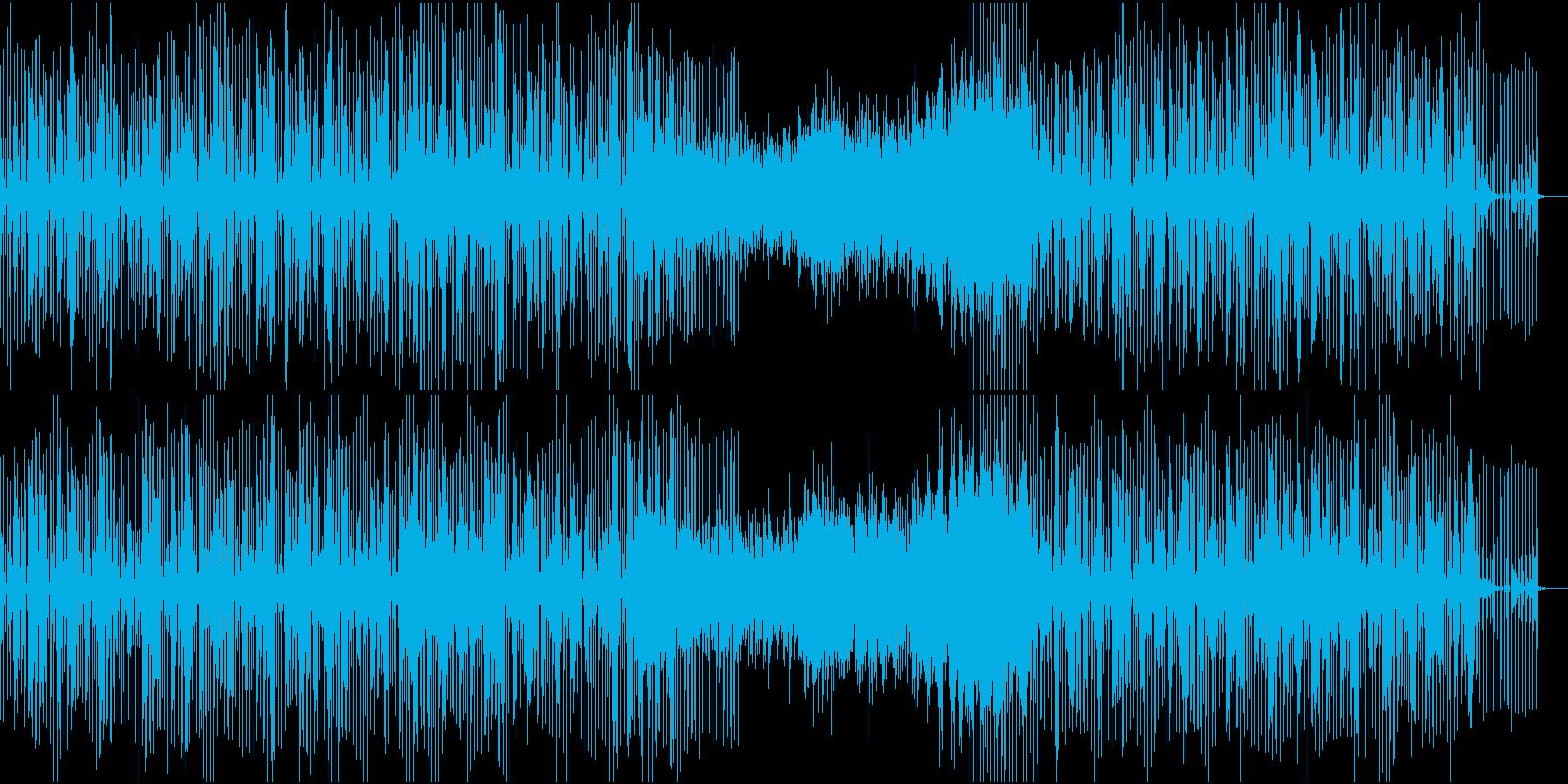 クールでおしゃれなテクノ系BGMの再生済みの波形
