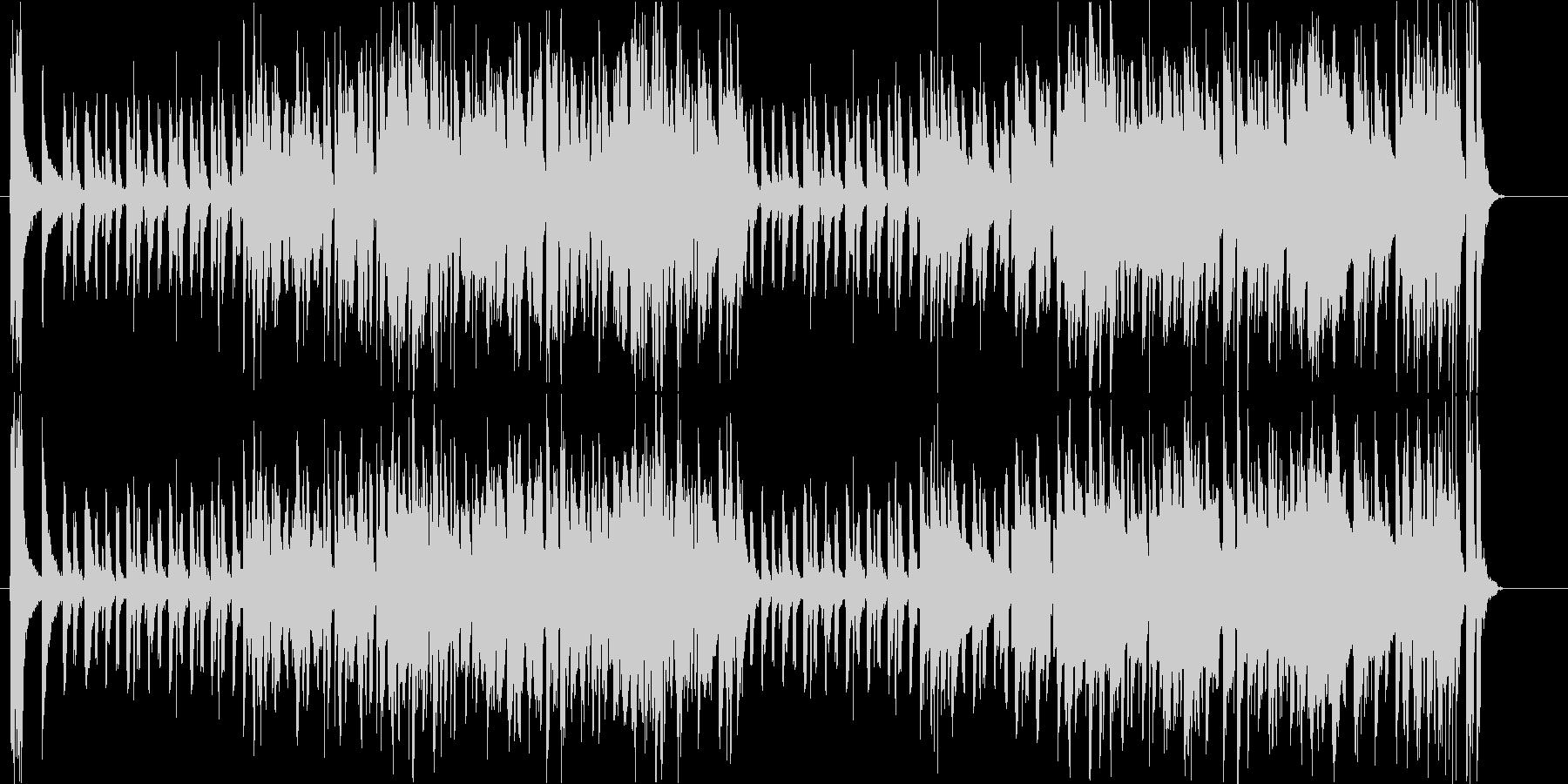 ほのぼの、平和なBGMの未再生の波形