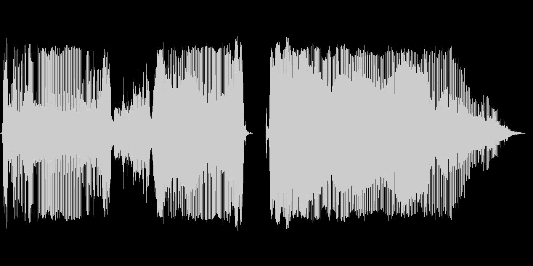 大正解の未再生の波形