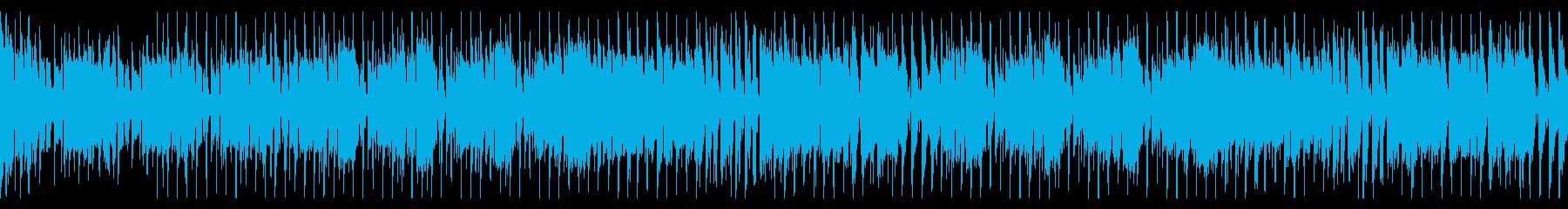 元気なブラスのディスコファンク/ゆっくりの再生済みの波形