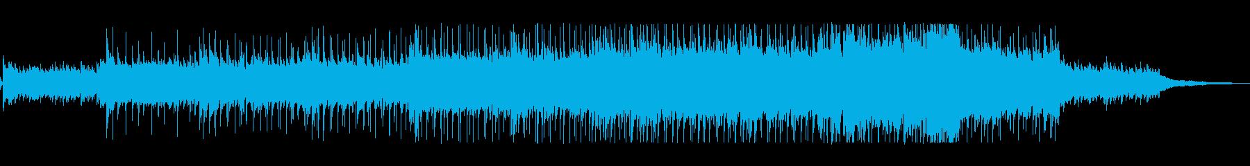 疾走感と躍動感が心地よいピアノ曲の再生済みの波形