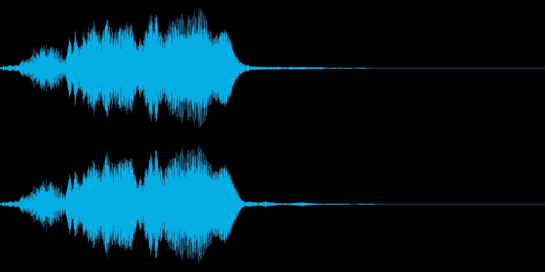 ギギィ~…軋む音 1の再生済みの波形