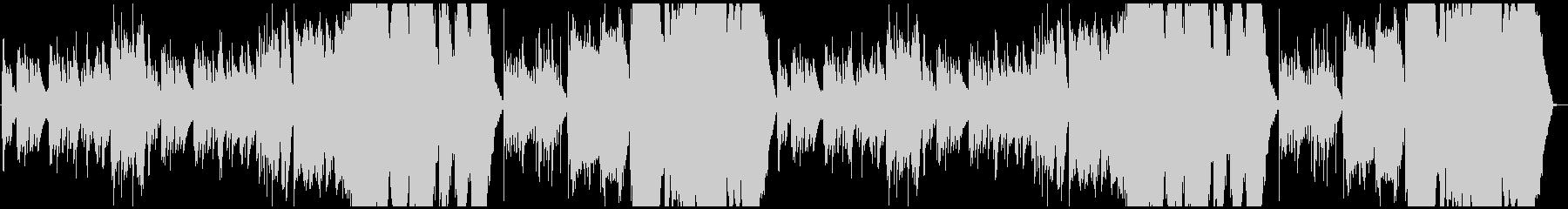 ピアノ&弦の幻想的なワルツの未再生の波形