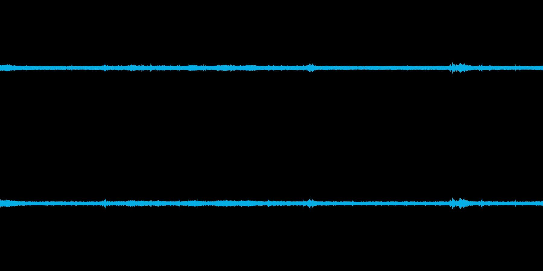 【生音】夏の日の雷雨 - 03 雨の降…の再生済みの波形