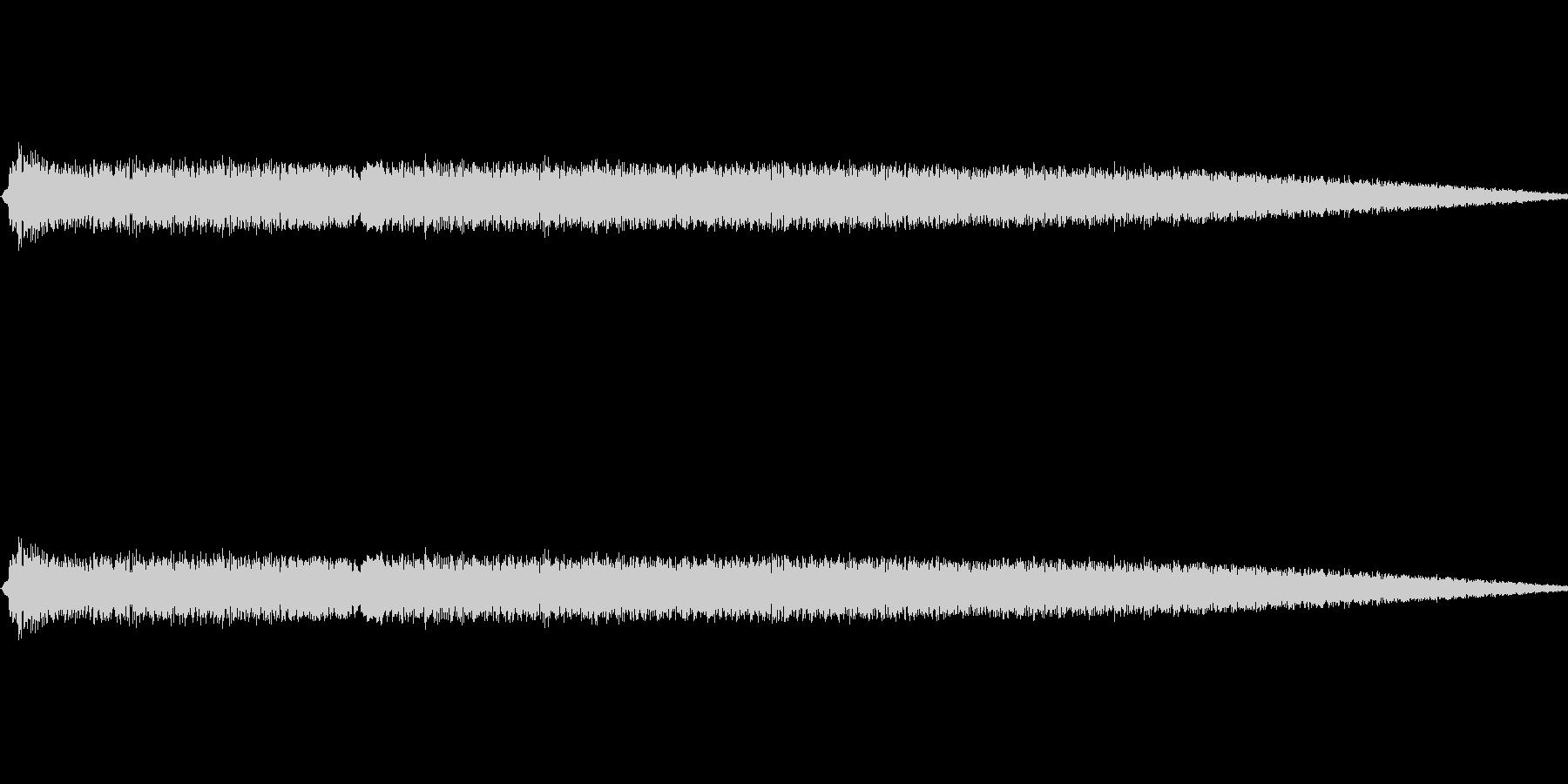 ショット・ビーム発射音#2の未再生の波形