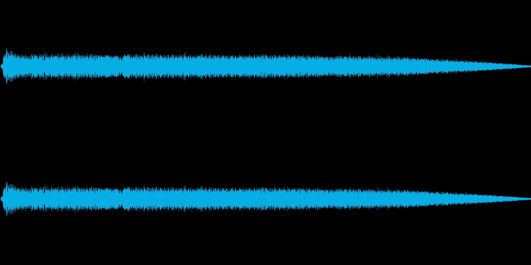 ショット・ビーム発射音#2の再生済みの波形