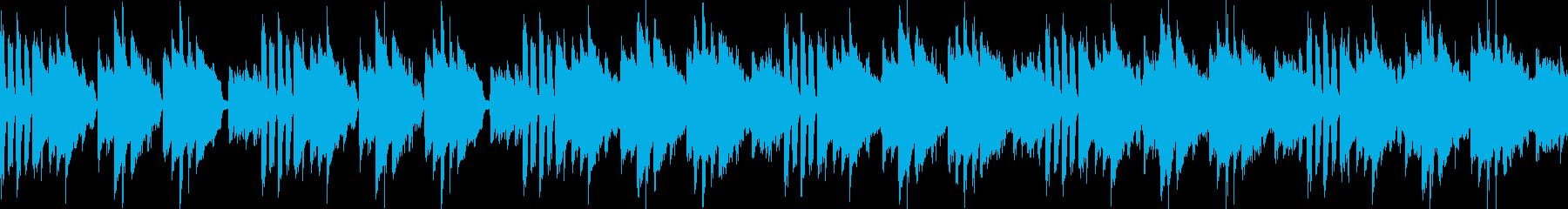 よろしくお願いしますな曲(ループ仕様)の再生済みの波形