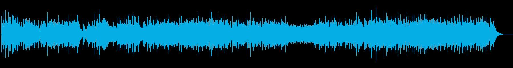 吹奏楽のためのオープニング音楽の再生済みの波形