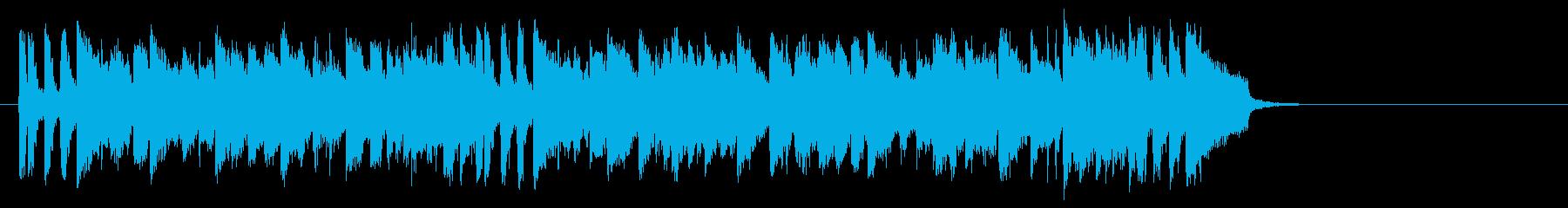 フュージョンバラード(サビ)の再生済みの波形