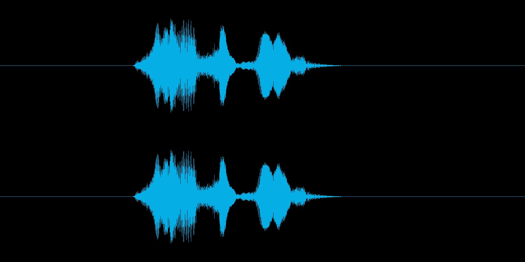 イエスブゥの再生済みの波形