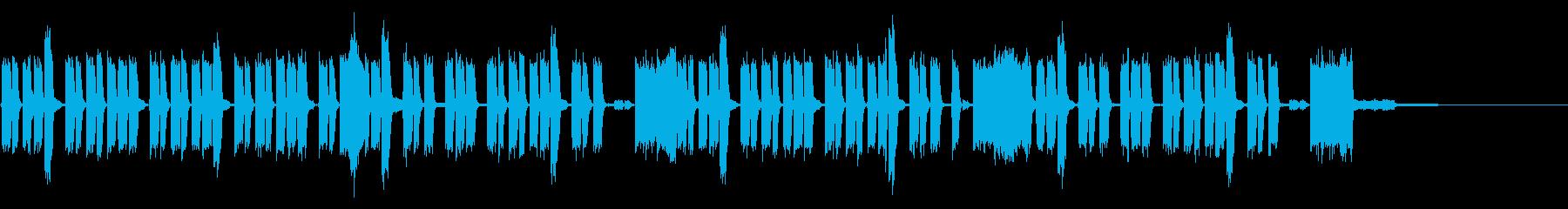 ゲーム向け音源の再生済みの波形